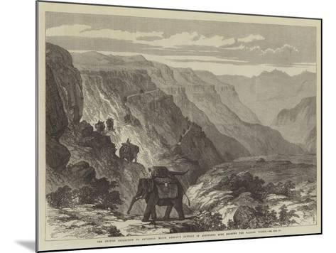The British Expedition to Abyssinia--Mounted Giclee Print