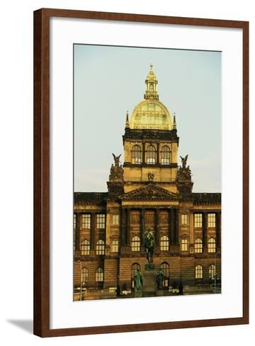 The Central Tower of National Museum (19th Century)--Framed Art Print
