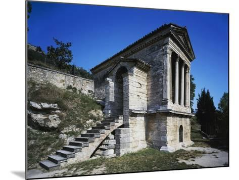 Temple of Clitunno (Unesco World Heritage List--Mounted Photographic Print