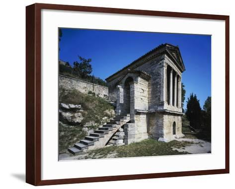 Temple of Clitunno (Unesco World Heritage List--Framed Art Print
