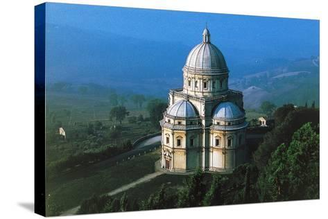 Temple of Our Lady of Consolation--Stretched Canvas Print