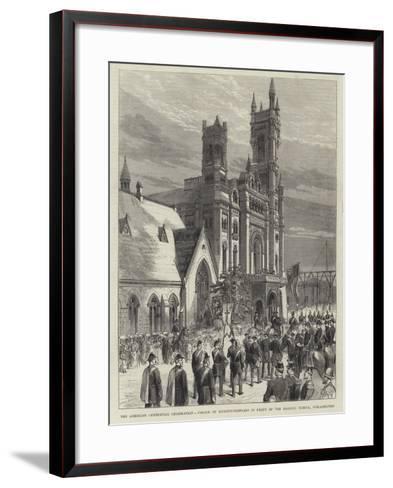 The American Centennial Celebration--Framed Art Print