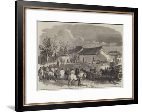 The Chinese Bringing to the British Head-Quarters the 300--Framed Art Print