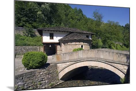 Stone Bridge and Church--Mounted Photographic Print