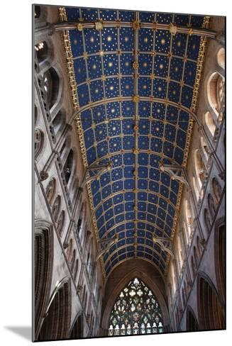 The Barrel Vault of the Central Nave of Carlisle Cathedral (Founded in the 12th Century)--Mounted Photographic Print