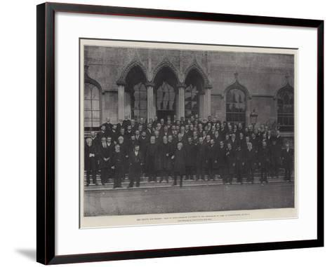 The Church and Dissent--Framed Art Print