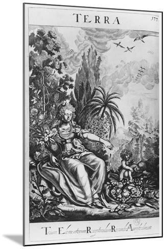 Terra--Mounted Giclee Print
