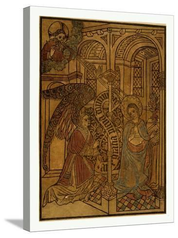The Annunciation--Stretched Canvas Print