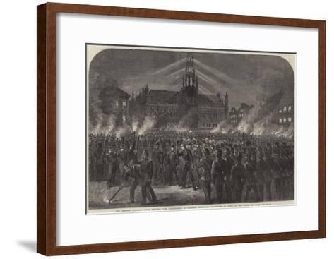The Belgian National Rifle Meeting--Framed Art Print