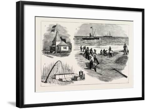 The Bennet Mackay Cable--Framed Art Print