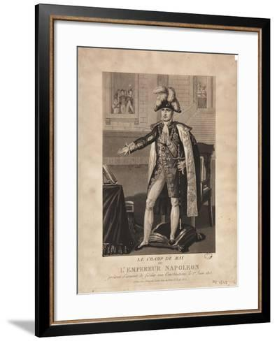 The Champ De Mai--Framed Art Print