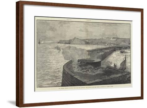 The Channel Tunnel at Dover--Framed Art Print