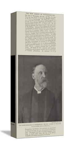 The Bishop-Designate of Peterborough--Stretched Canvas Print
