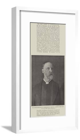 The Bishop-Designate of Peterborough--Framed Art Print