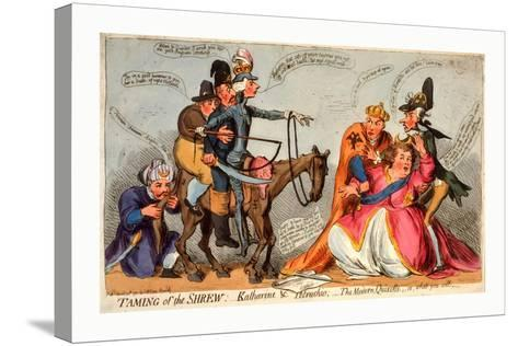 Taming of the Shrew--Stretched Canvas Print