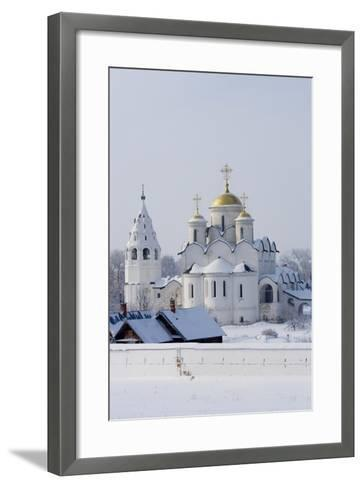 The Cathedral (1510-1518) and the Convent of the Intercession--Framed Art Print