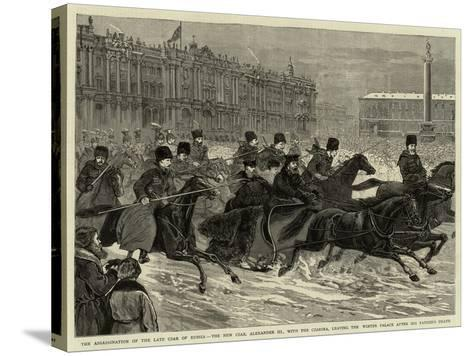 The Assassination of the Late Czar of Russia--Stretched Canvas Print