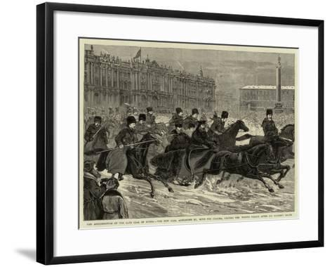 The Assassination of the Late Czar of Russia--Framed Art Print
