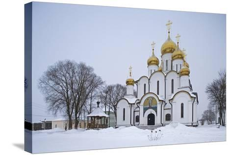 The Cathedral of St Nicholas (1721) in the St Nicholas Monastery (14th Century)--Stretched Canvas Print