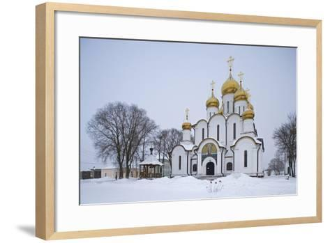 The Cathedral of St Nicholas (1721) in the St Nicholas Monastery (14th Century)--Framed Art Print