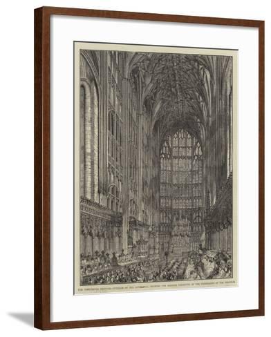 The Gloucester Festival--Framed Art Print