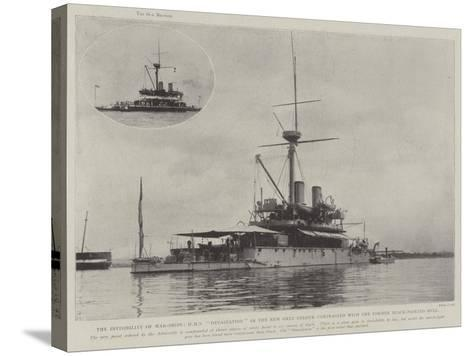 The Invisibility of War-Ships--Stretched Canvas Print