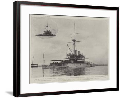 The Invisibility of War-Ships--Framed Art Print