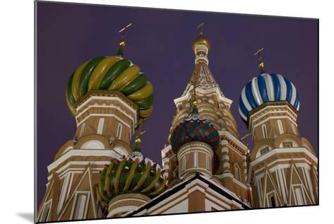 The Domes of Saint Basil's Cathedral (Hram Vasilija Blazennogo)--Mounted Photographic Print