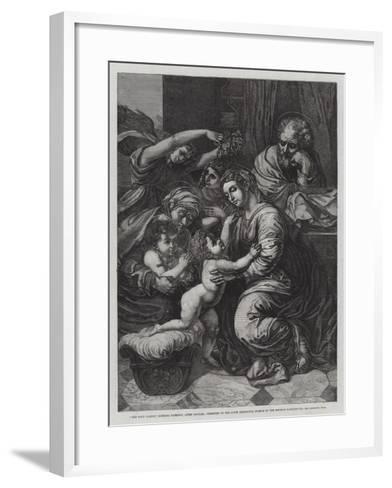 The Holy Family--Framed Art Print