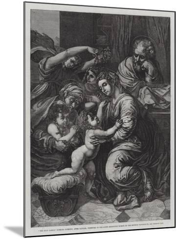 The Holy Family--Mounted Giclee Print