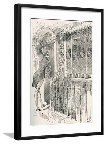 The Four Sisters. Where on Earth the Husband Came From--Framed Art Print