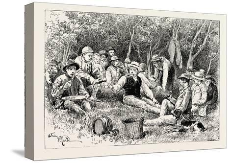 The Crimean War: the Siege of Sebastopol: Camp of the Siege Train (General Sir J. Burgoyne)--Stretched Canvas Print