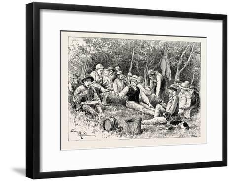 The Crimean War: the Siege of Sebastopol: Camp of the Siege Train (General Sir J. Burgoyne)--Framed Art Print