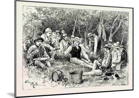The Crimean War: the Siege of Sebastopol: Camp of the Siege Train (General Sir J. Burgoyne)--Mounted Giclee Print