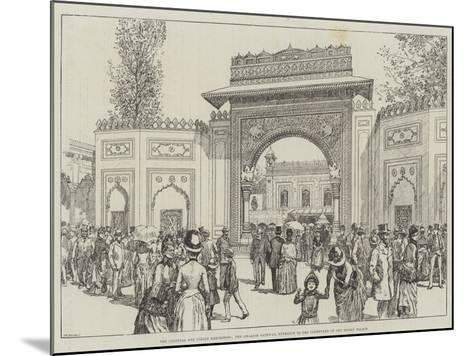 The Colonial and Indian Exhibition--Mounted Giclee Print