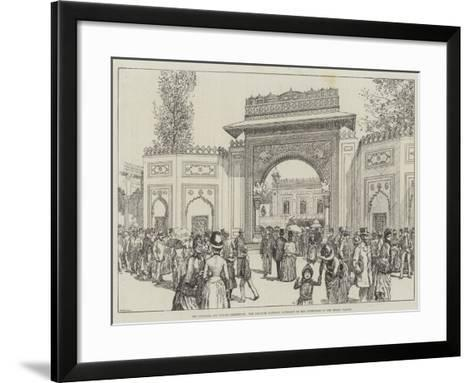 The Colonial and Indian Exhibition--Framed Art Print