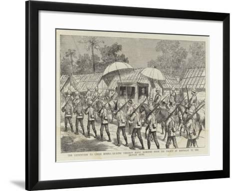 The Expedition to Upper Burma--Framed Art Print