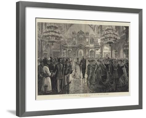 The Imperial Coronation at Moscow--Framed Art Print