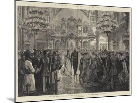 The Imperial Coronation at Moscow--Mounted Giclee Print