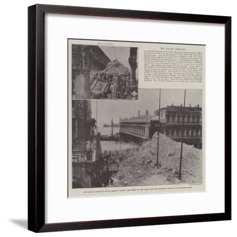 The Fallen Campanile of St Mark'S--Framed Art Print