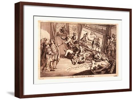 The Convention Makers--Framed Art Print