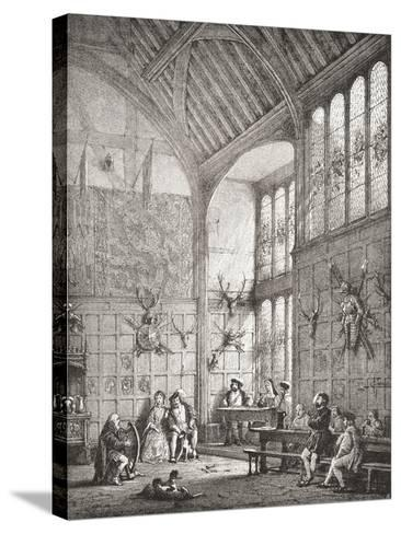 The Great Hall--Stretched Canvas Print