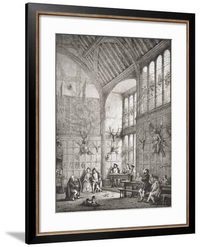 The Great Hall--Framed Art Print