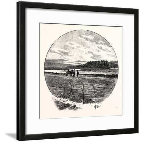 The Coquet at Farnham--Framed Art Print