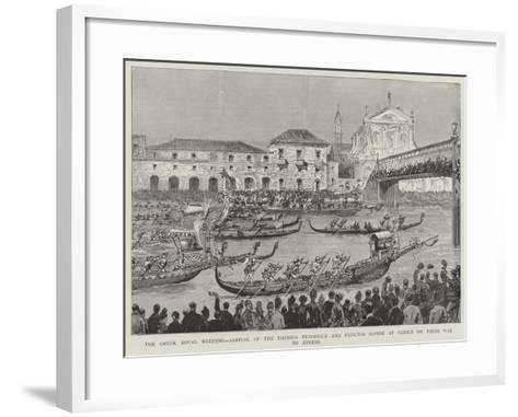 The Greek Royal Wedding--Framed Art Print