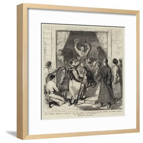 The Eastern Question--Framed Art Print