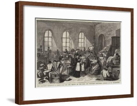 The Eastern Question--Framed Art Print