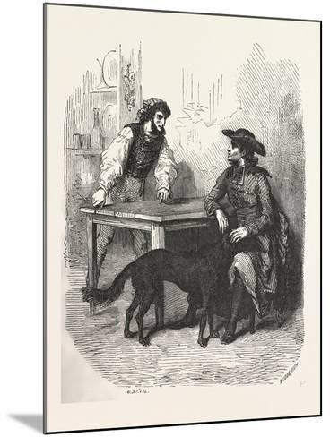 The Count of Monte Christo Alexandre Dumas--Mounted Giclee Print