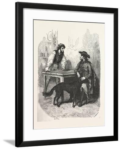 The Count of Monte Christo Alexandre Dumas--Framed Art Print