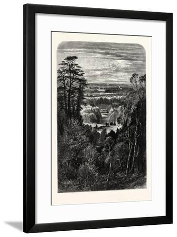 The Fishing Temple--Framed Art Print